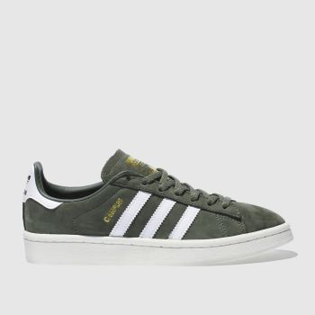 Adidas Khaki Campus Womens Trainers