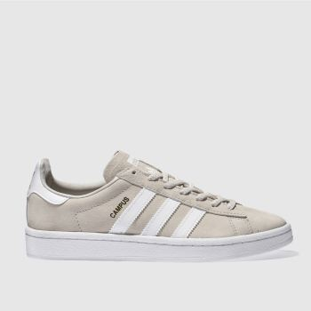 Adidas Beige Campus Womens Trainers