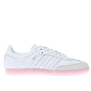 Adidas White Samba Womens Trainers