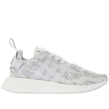 Adidas White Nmd_R2 Womens Trainers