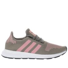 Adidas Khaki Swift Run Womens Trainers