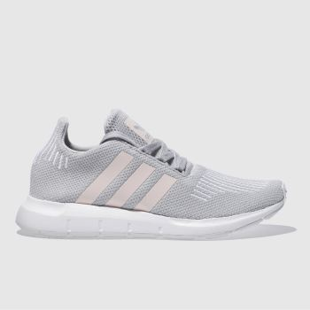 Adidas Grey Swift Run Womens Trainers