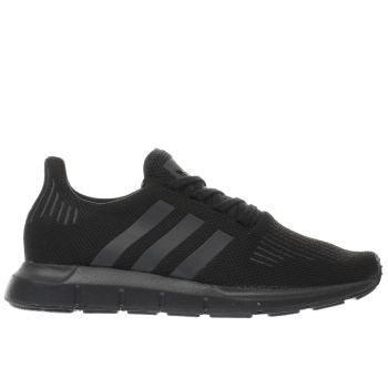 Adidas Black Swift Run Womens Trainers
