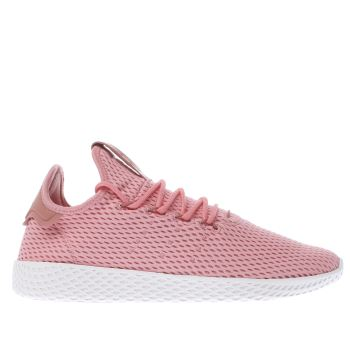 ADIDAS PINK PHARRELL WILLIAMS TENNIS HU TRAINERS
