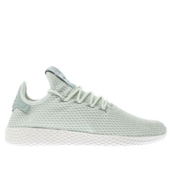 Adidas Light Green PHARRELL WILLIAMS TENNIS HU Trainers