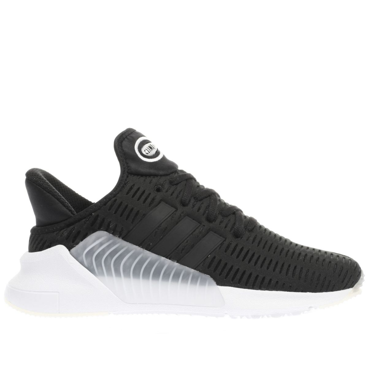 adidas black & white climacool 02.17 trainers