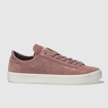 Adidas Pink Court Vantage Womens Trainers