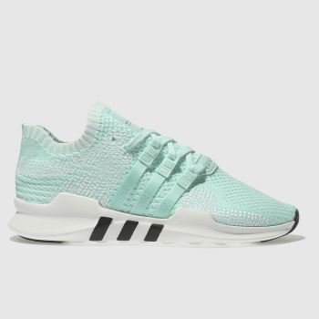 Adidas Green Eqt Support Adv Primeknit Womens Trainers