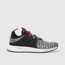 Adidas White & Black X_ Plr Womens Trainers