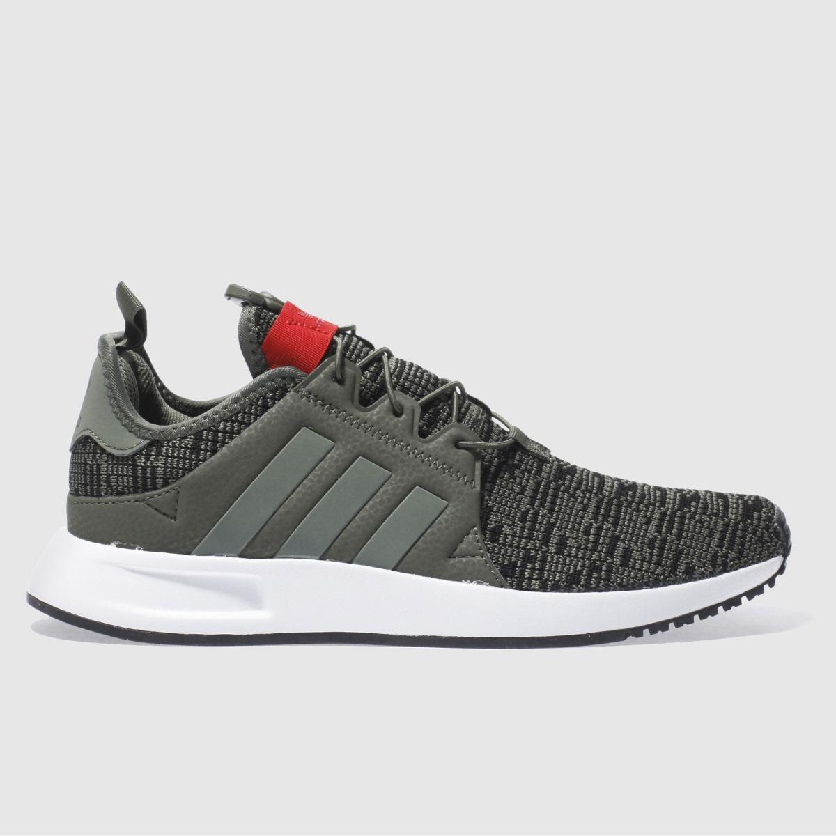 adidas khaki x_plr trainers