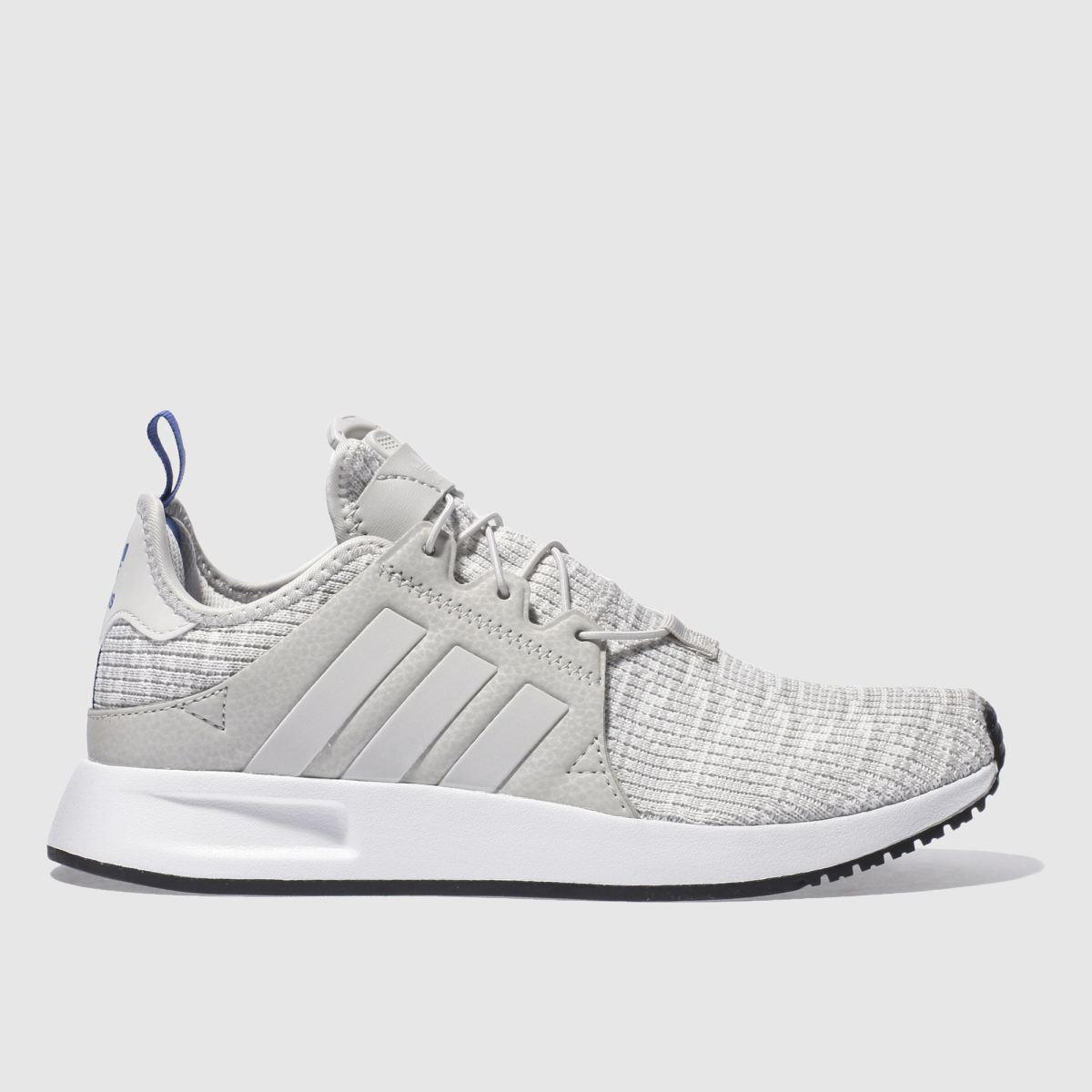 adidas light grey adi x plr trainers