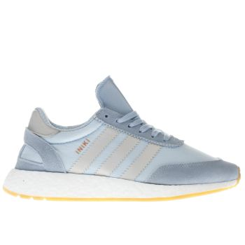 Adidas Pale Blue Iniki Runner Trainers