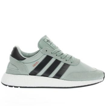 Adidas Green Iniki Runner Womens Trainers