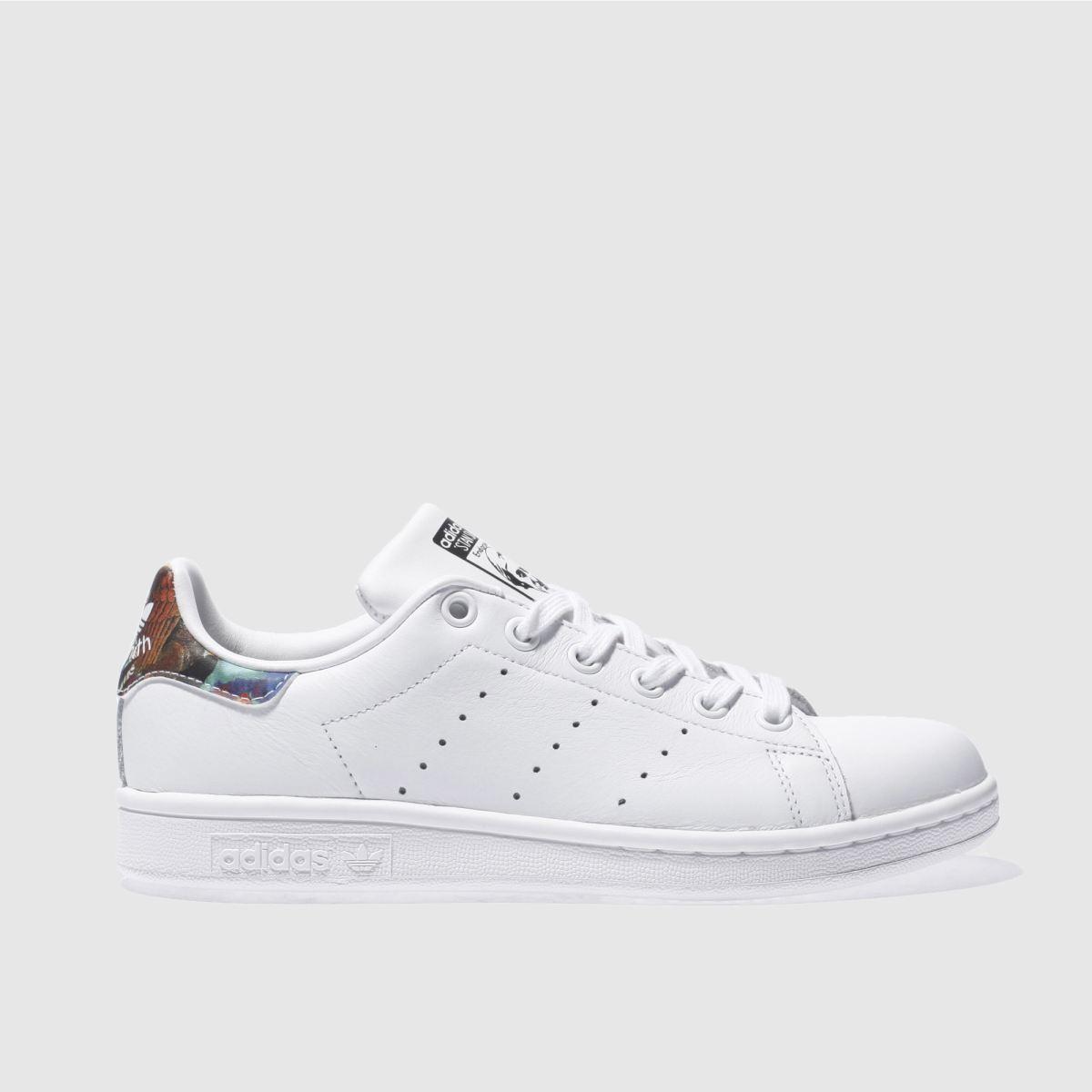 adidas white stan smith trainers
