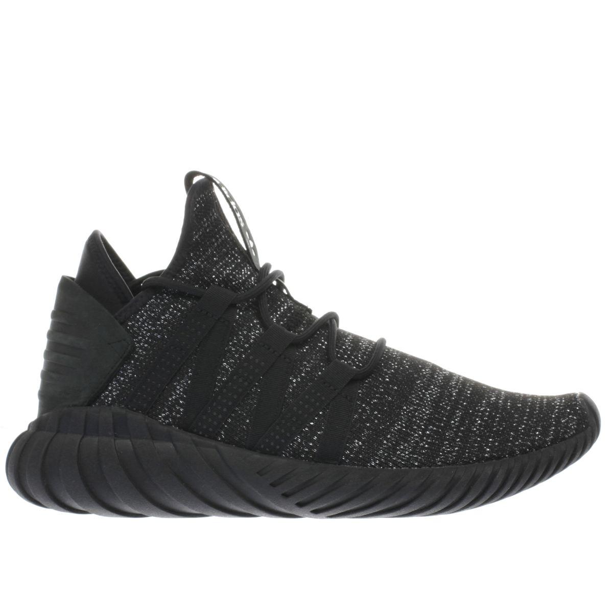 adidas black tubular dawn trainers