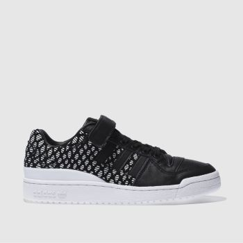 Adidas Black Forum Lo Womens Trainers