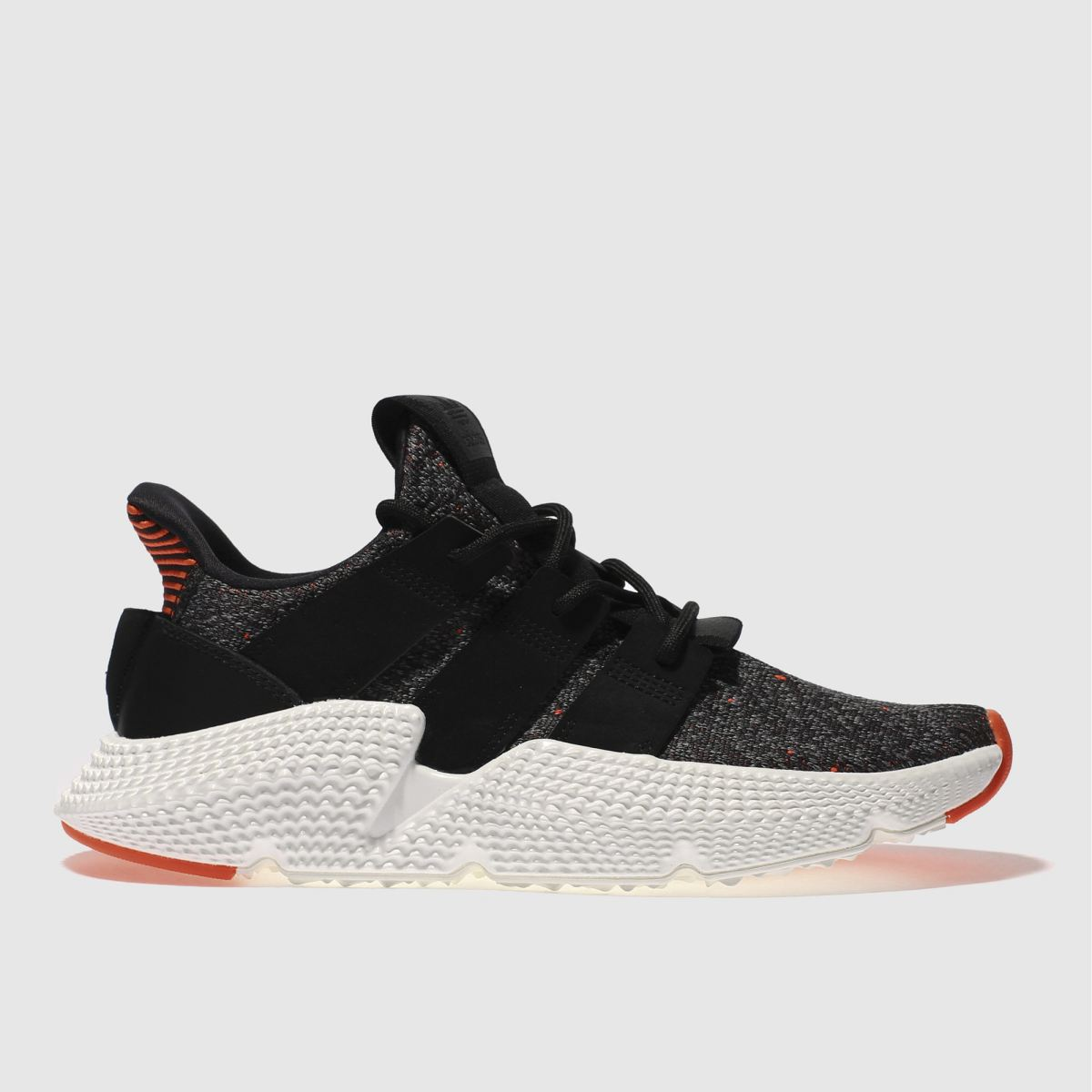 Adidas Black & Red Prophere Trainers