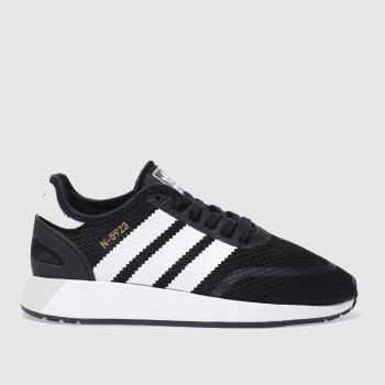 Adidas Black N-5923 Womens Trainers