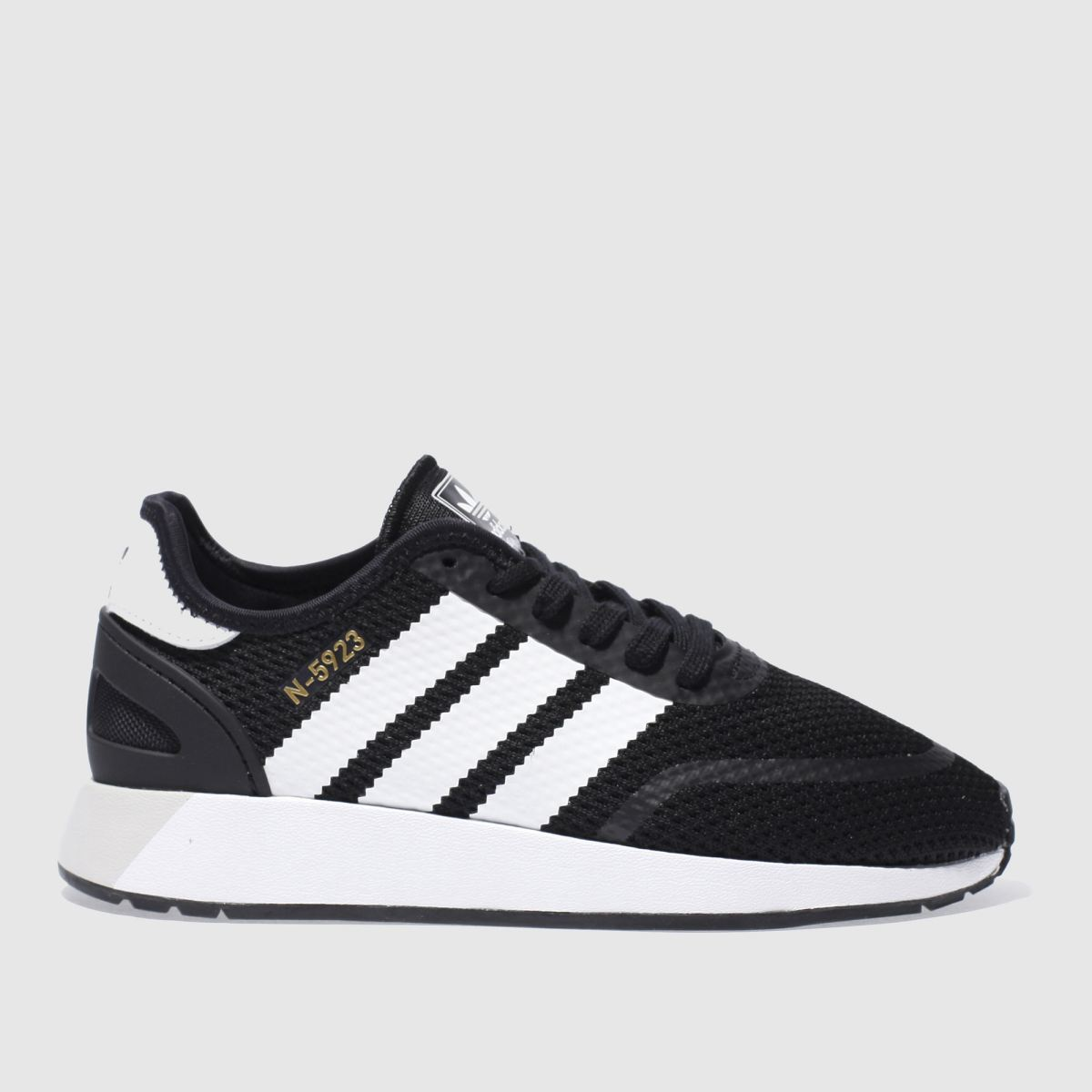 Adidas Black & White N-5923 Trainers