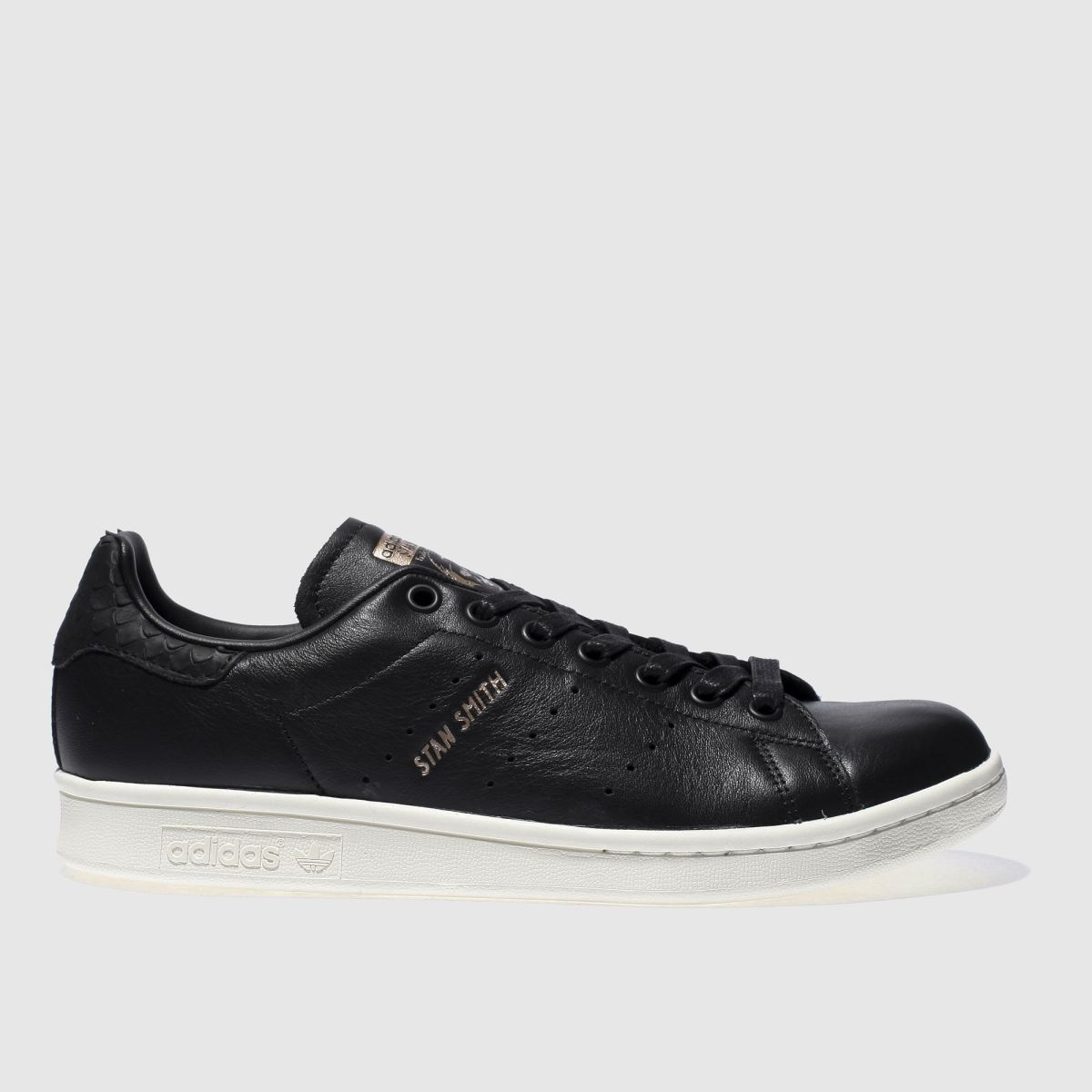 Adidas Black & Gold Stan Smith Trainers