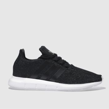 Adidas Black Swift Run Glitter Womens Trainers