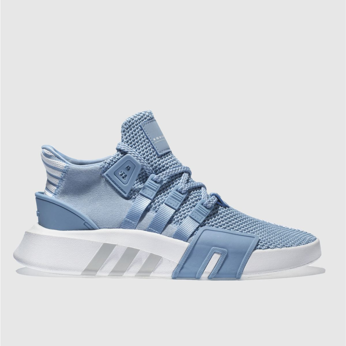 Adidas Pale Blue Eqt Bask Adv Trainers
