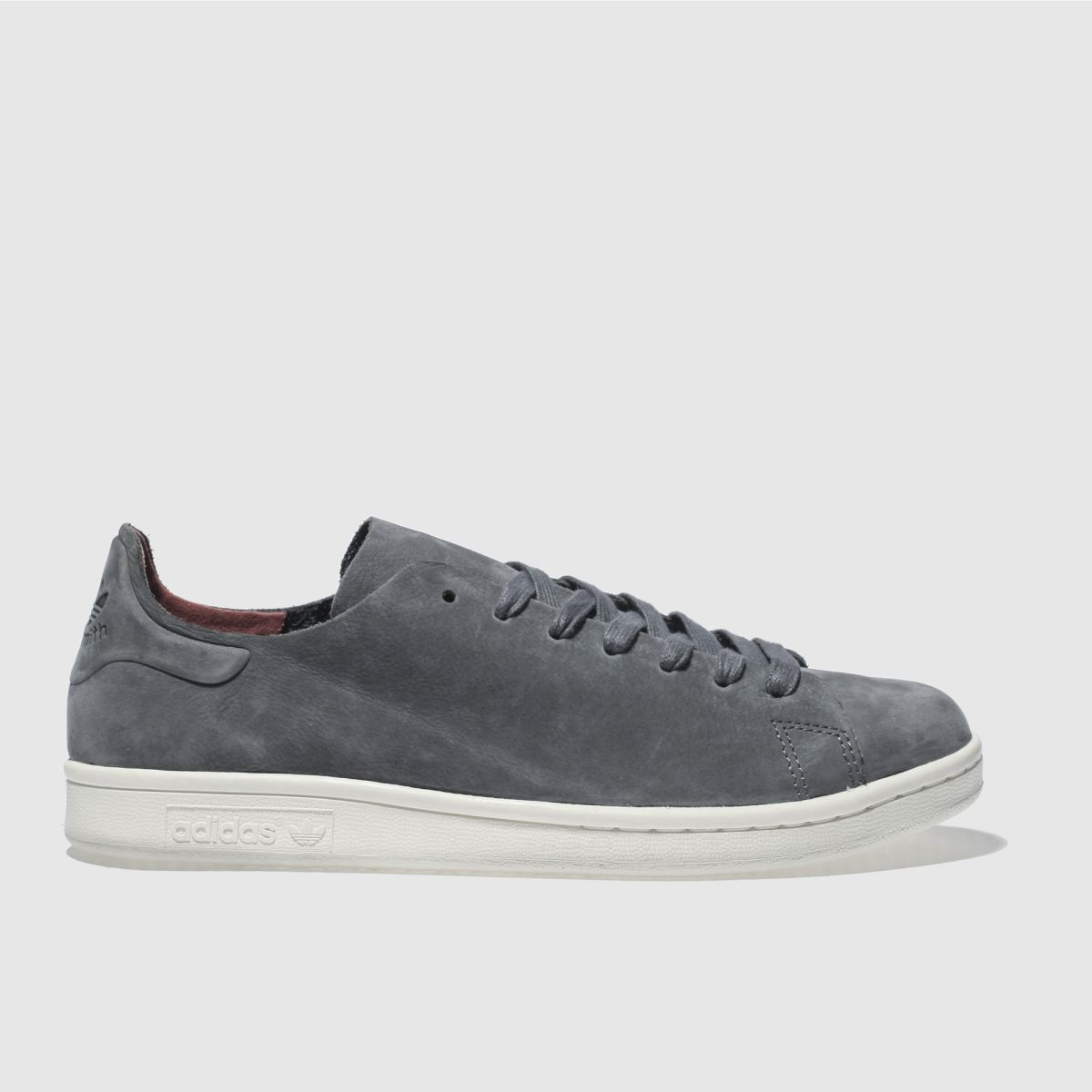 Adidas Dark Grey Stan Smith Nuud Trainers
