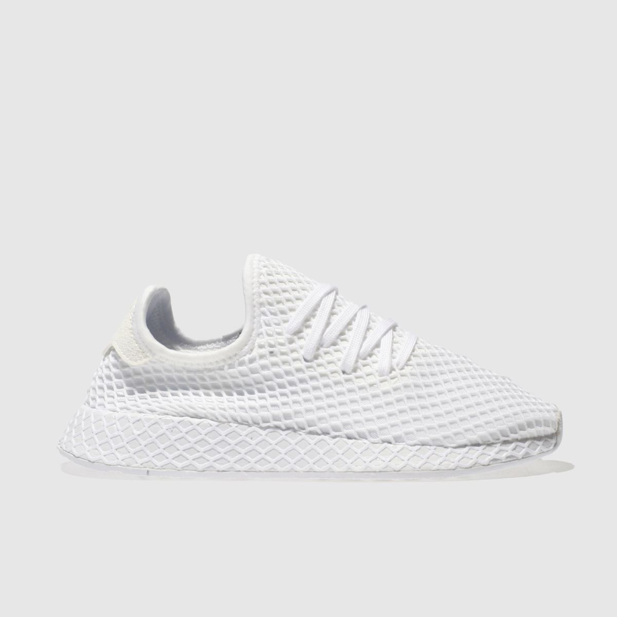 Adidas White Deerupt Runner Trainers