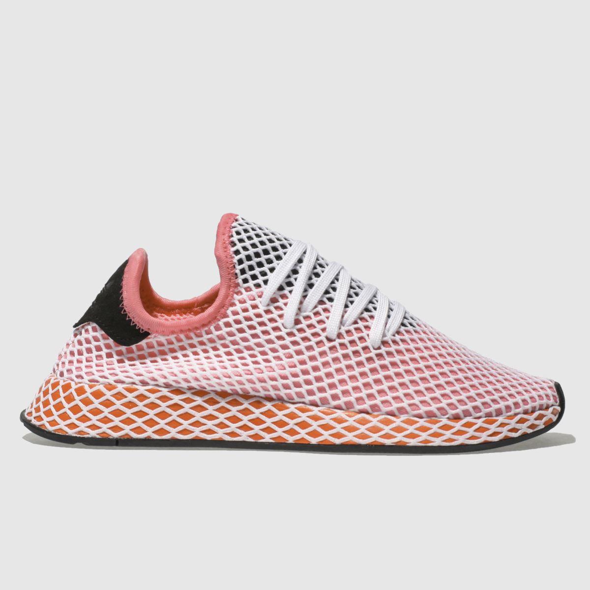 Adidas Pink Deerupt Runner Trainers