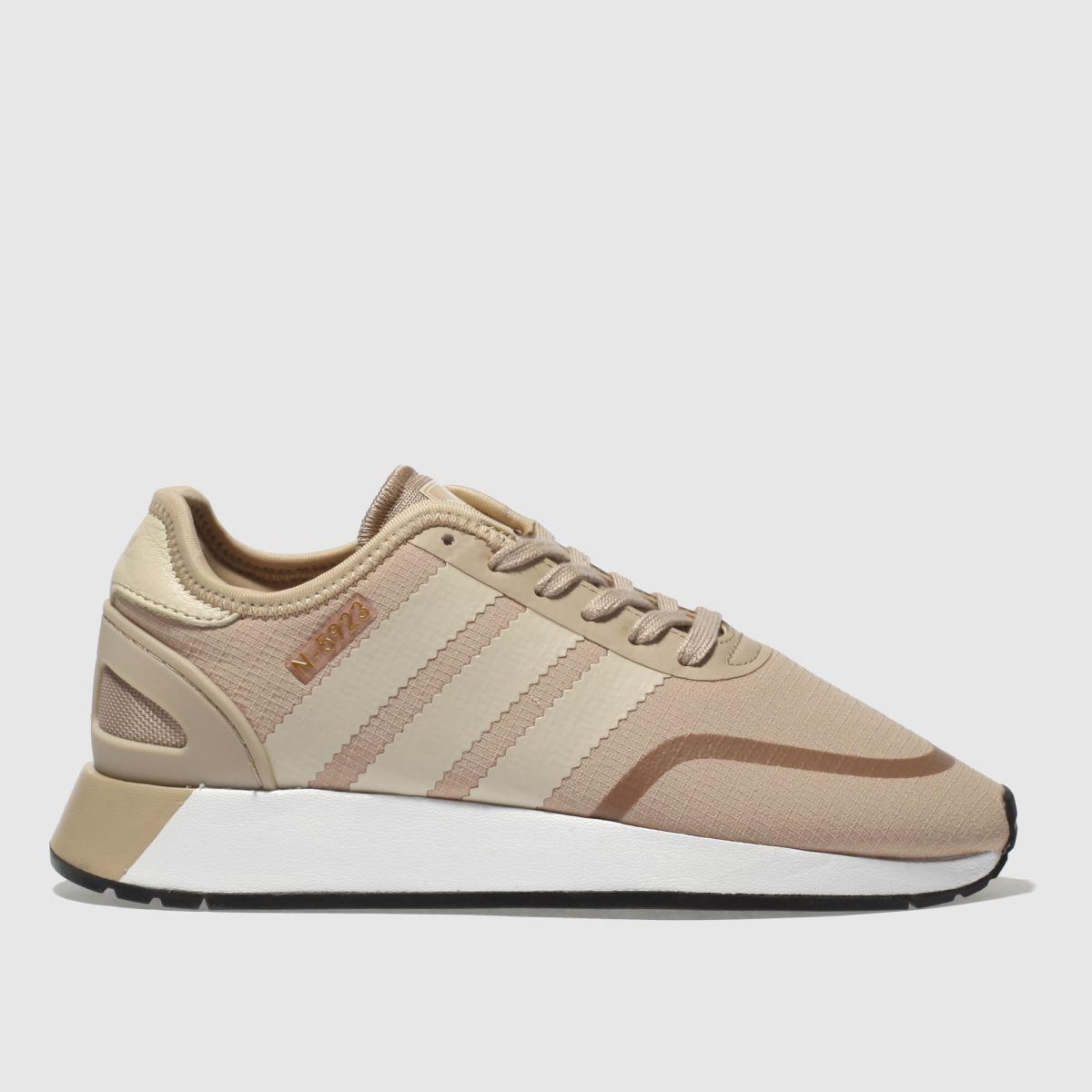Adidas Beige N-5923 Trainers