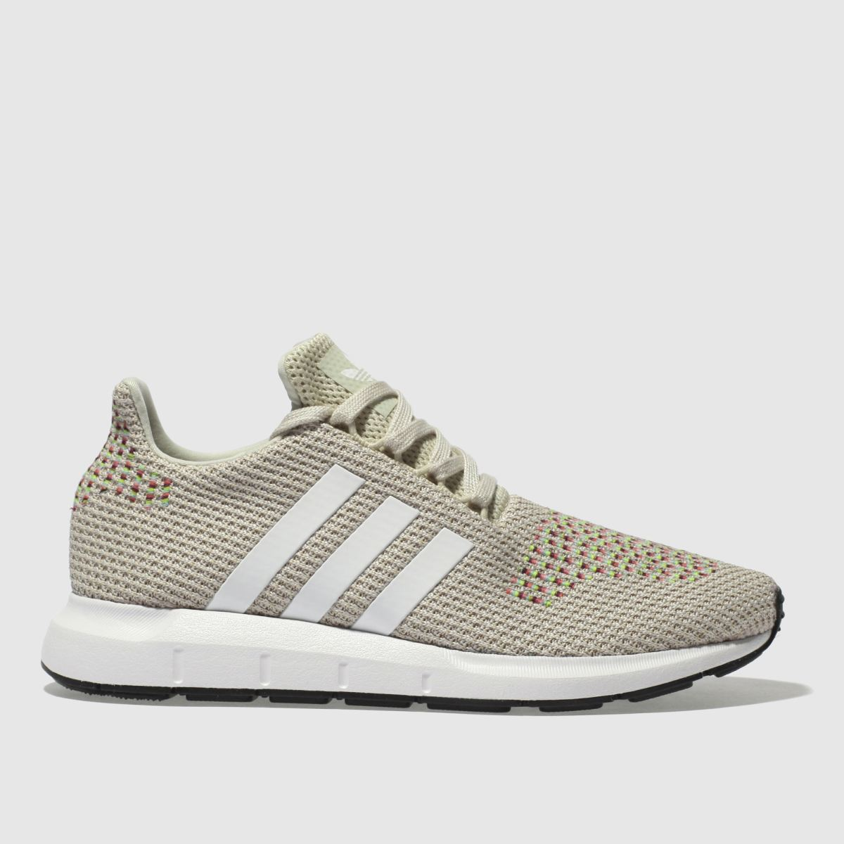 Adidas Beige Swift Run Trainers
