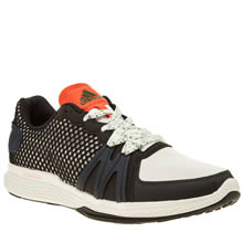 Adi Stella Sport White & Black Ively Womens Trainers
