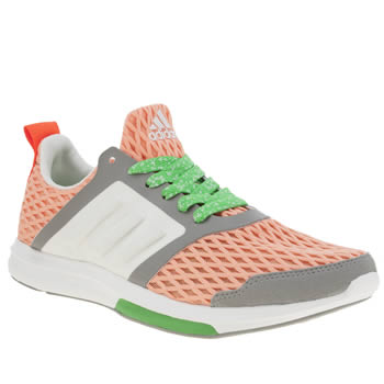 Adi Stella Sport Orange Yvori Trainers