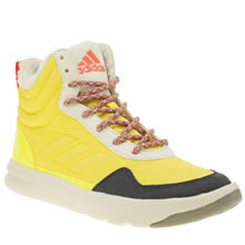 Adi Stella Sport Yellow Irana Womens Trainers