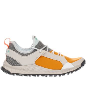 Adi Stella Sport White & Orange Alexi X Trainers