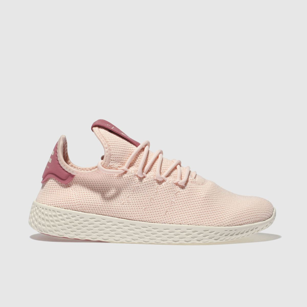Adidas Pale Pink Pharrell Williams Tennis Hu Trainers