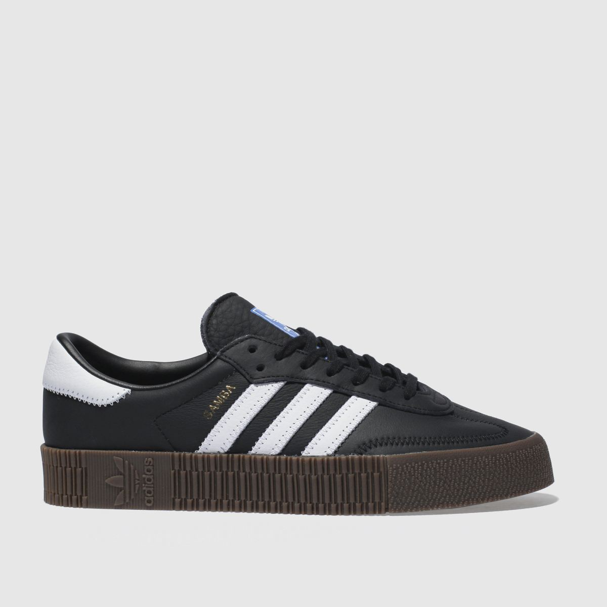 Adidas Black & White Sambarose Trainers