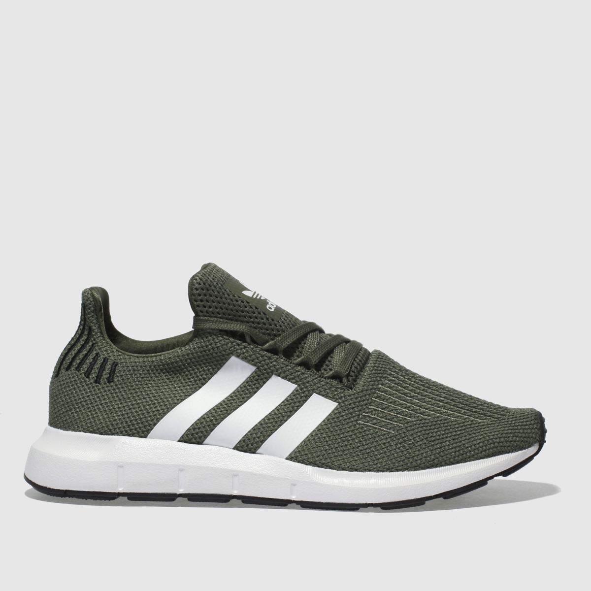 Adidas Khaki Swift Run Trainers