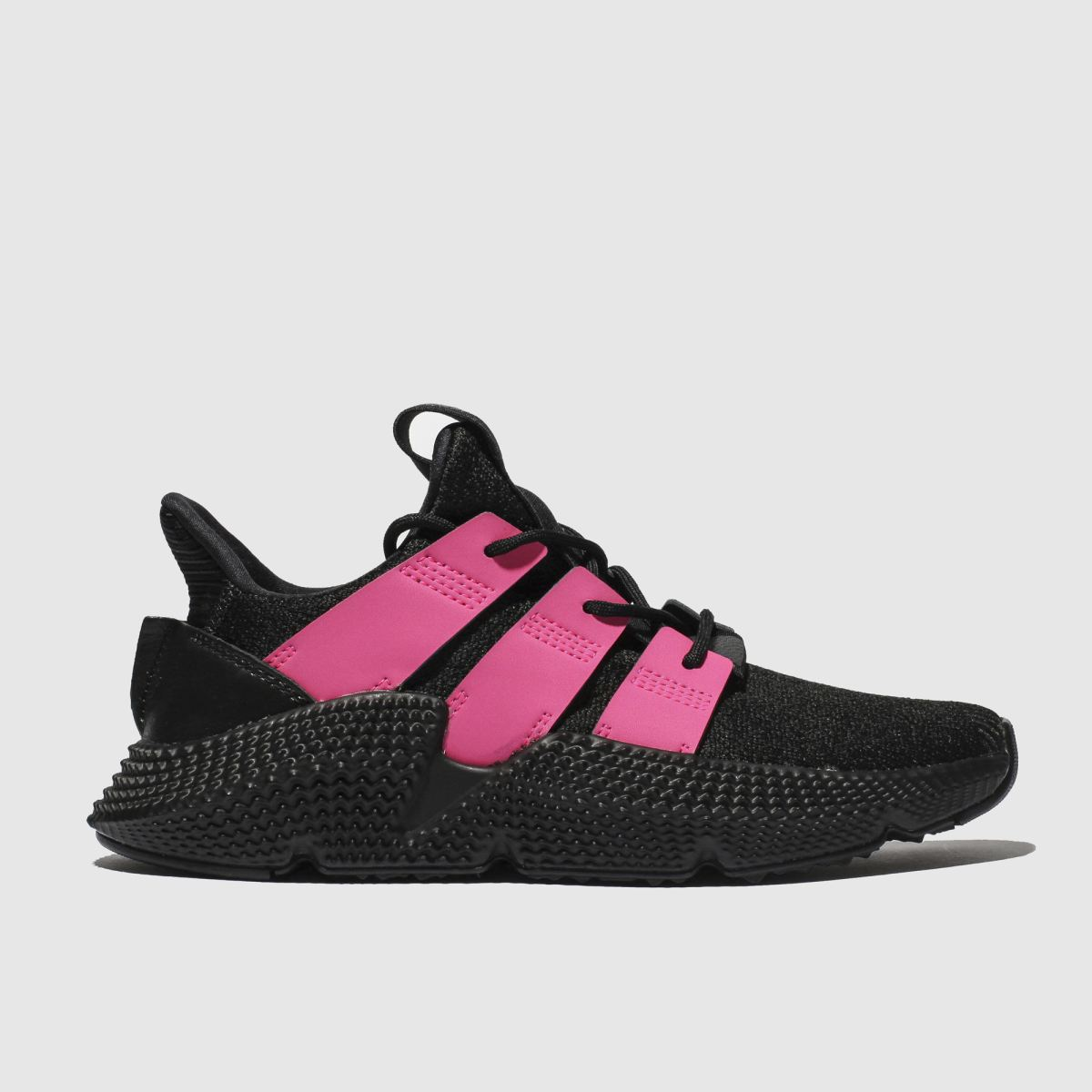 Adidas Black & Pink Prophere Trainers
