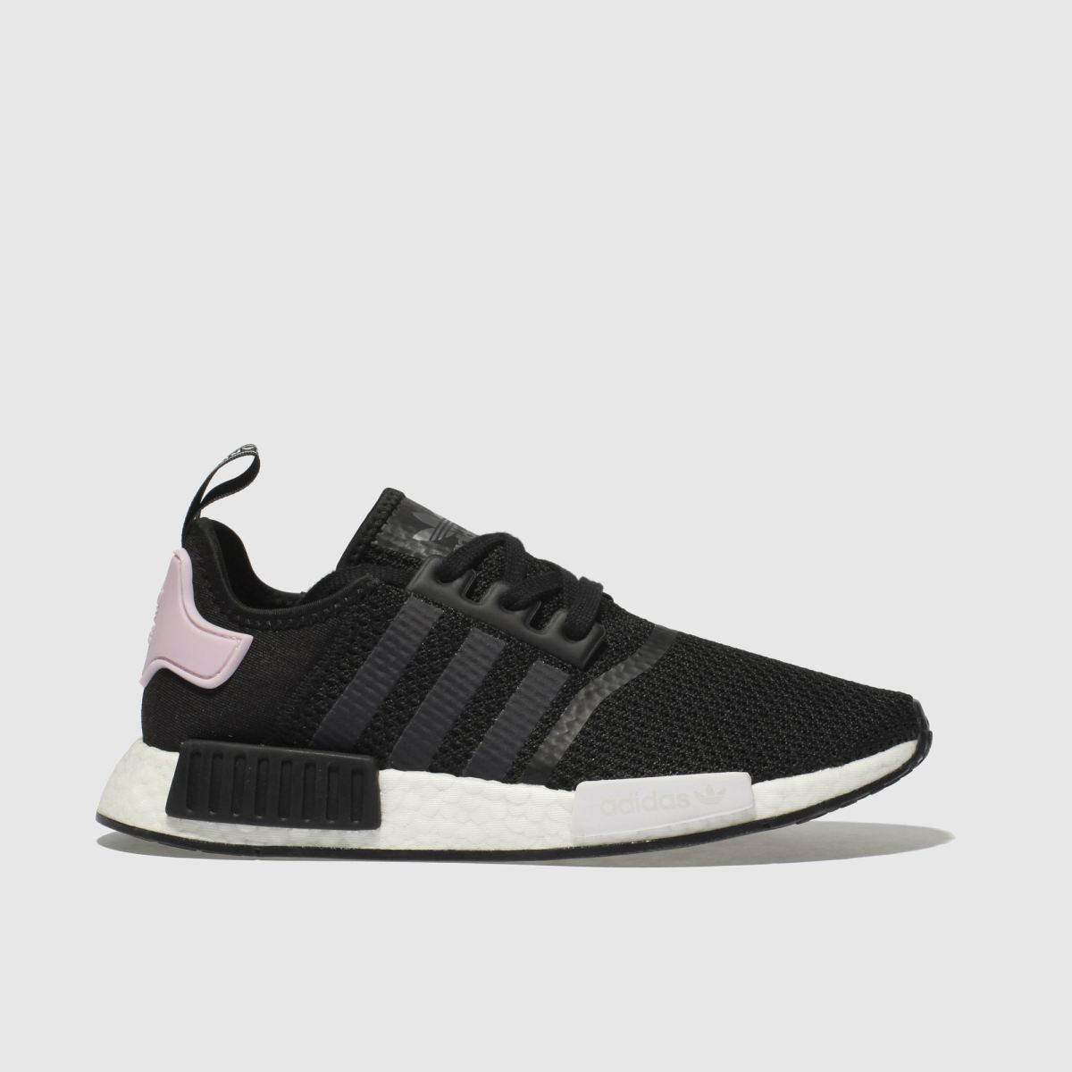 Adidas Black & Pink Nmd R1 Trainers