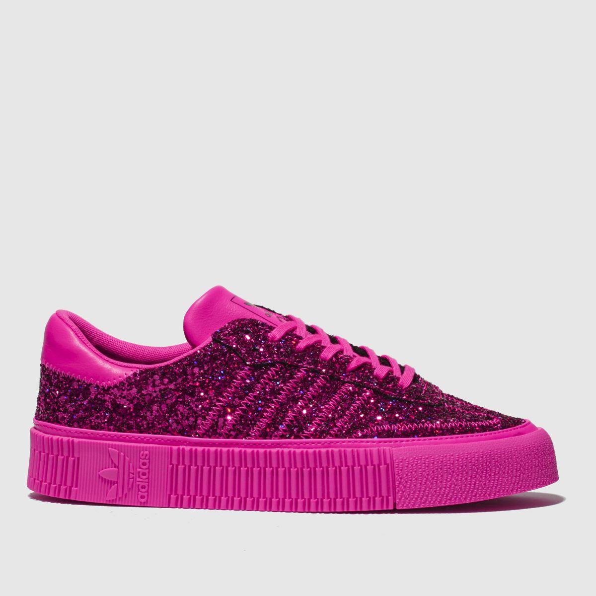 Adidas Pink Sambarose Trainers
