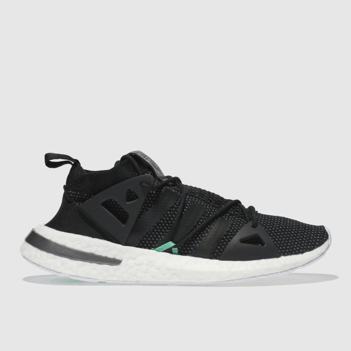 Adidas Black & Green Arkyn Trainers