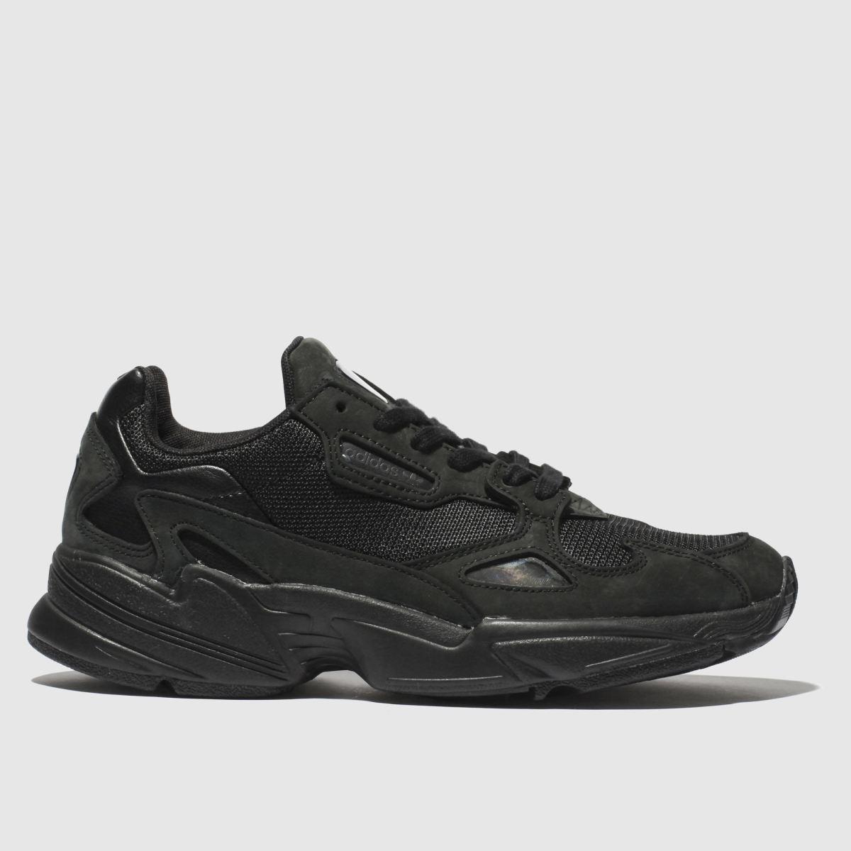 Adidas Black Falcon Trainers
