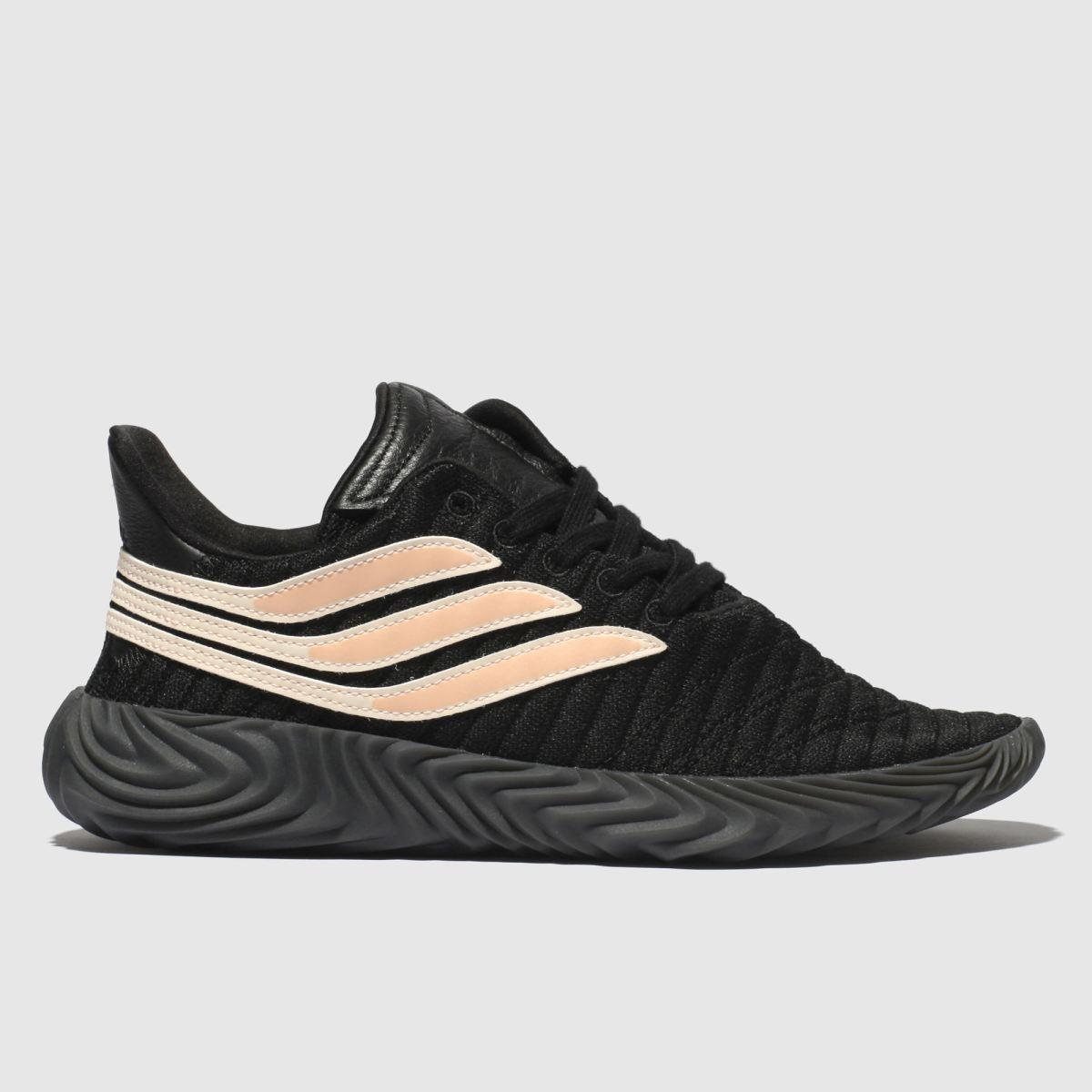 Adidas Black & Pink Sobakov Trainers