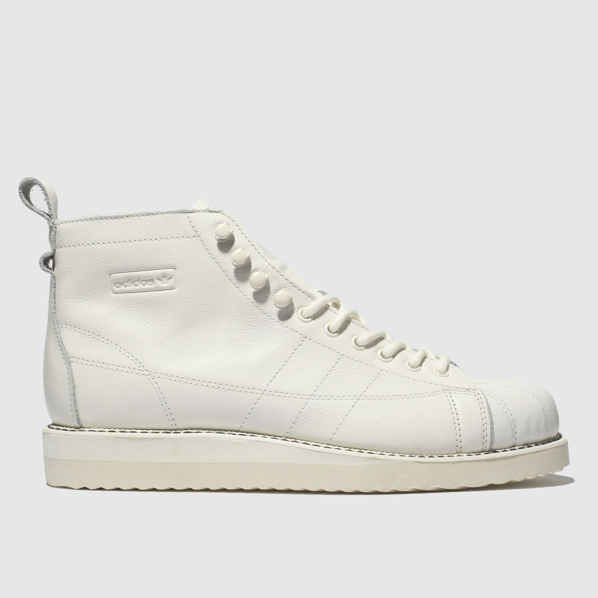 Adidas White Superstar Boot Trainers