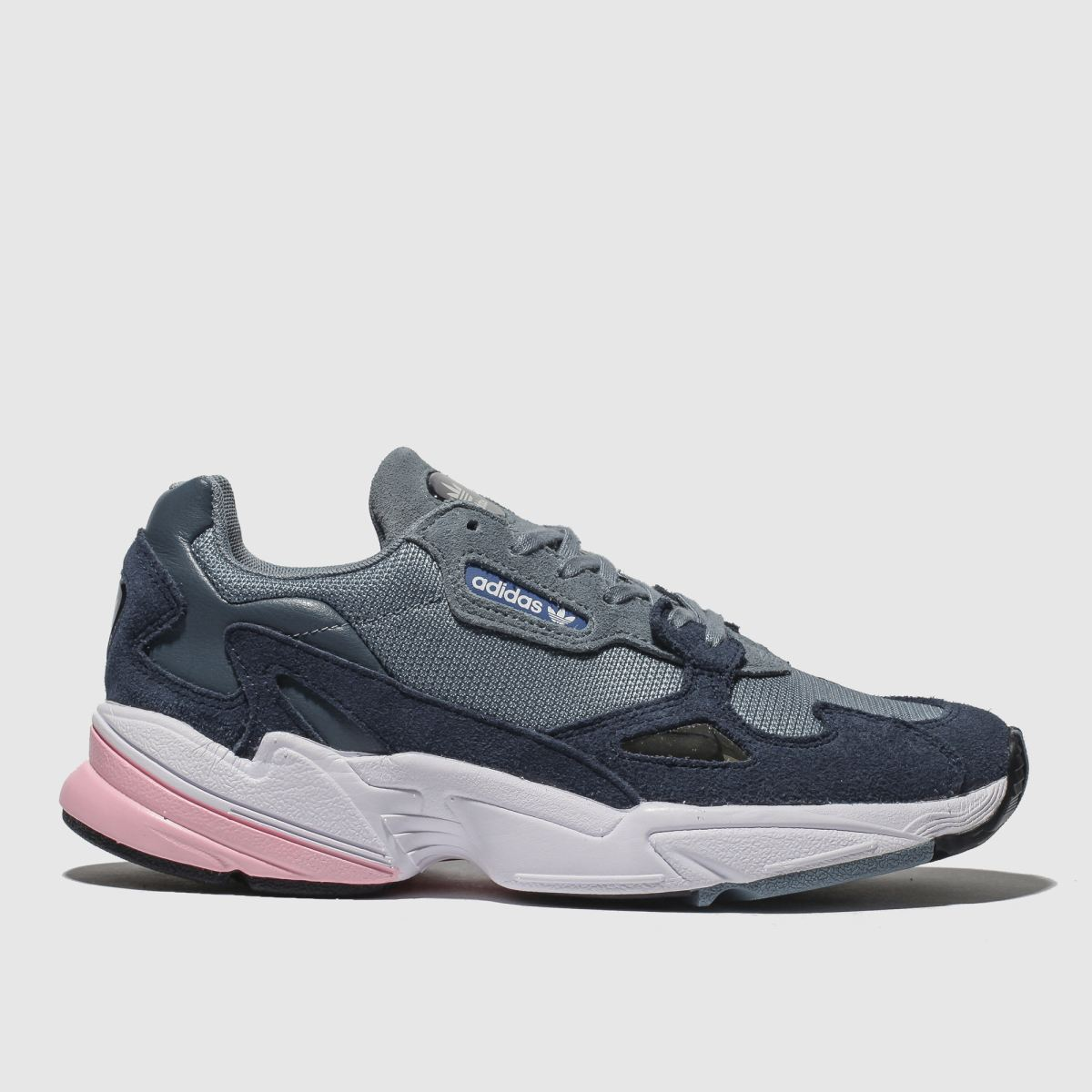 Adidas Navy Falcon Trainers