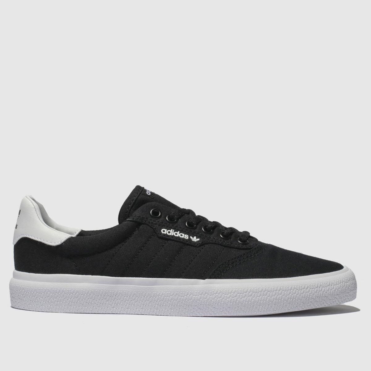 Adidas Skateboarding Black & Whitemc Trainers