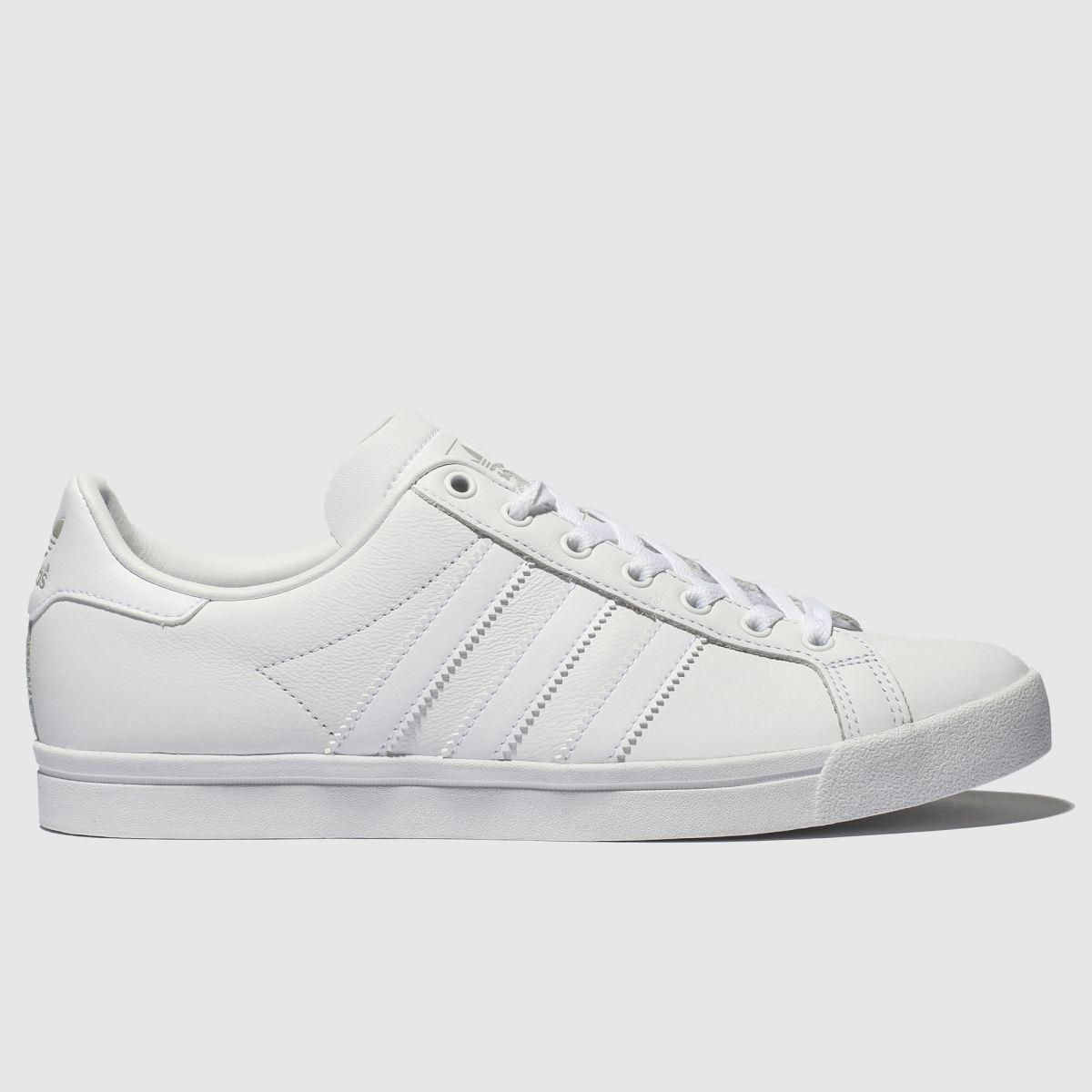 Adidas White & Grey Coast Star Trainers
