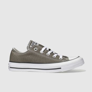 Womens Converse Dark Grey All Star Speciality Ox Trainers