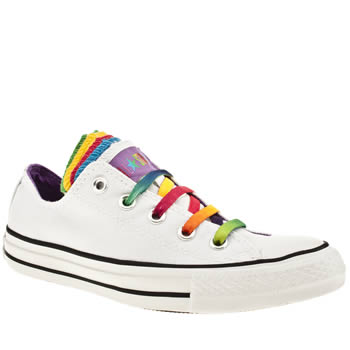 womens converse multi as multiple tongue ox trainers